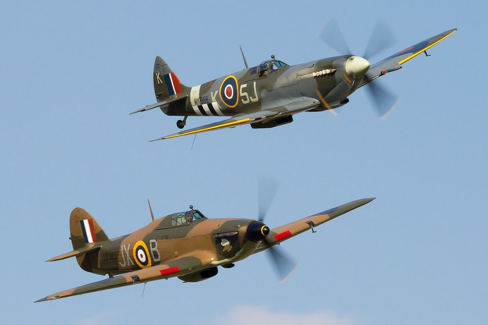 © Ben Montgomery • Battle of Britain Memorial Flight • Silverstone Classic Competition 2015