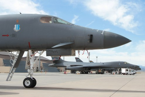 © Mark Forest - Rockwell B-1B Lancer - Home of the Bone II – Ellsworth AFB 28th BW