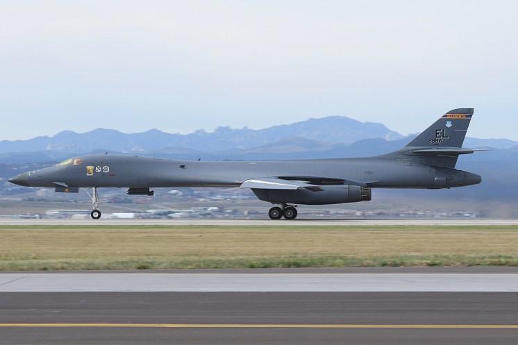 © Mark Forest - Rockwell B-1B Lancer - Home of the Bone II – Ellsworth AFB 28th BW