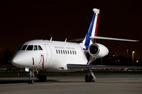 © Adam Duffield - Dassault Falcon 2000LX 231/F-RAFC - Northolt Nightshoot XIX