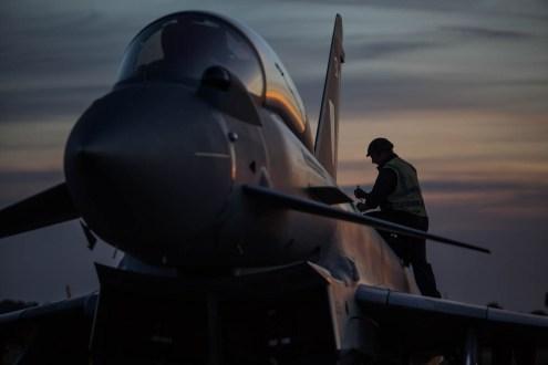© Harry Measures • Eurofighter Typhoon T.3 • RAF Coningsby Nightshoot