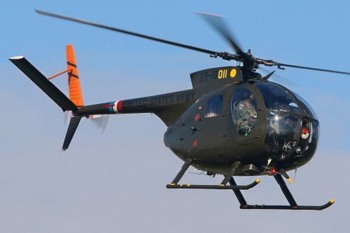 © Jamie Ewan - Huges OH-6A Cayuse - The Yorkshire Air Show 2015