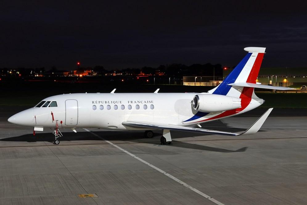 © Mark Kwiatkowski - Dassault Falcon 2000LX 231/F-RAFC - Northolt Nightshoot XIX
