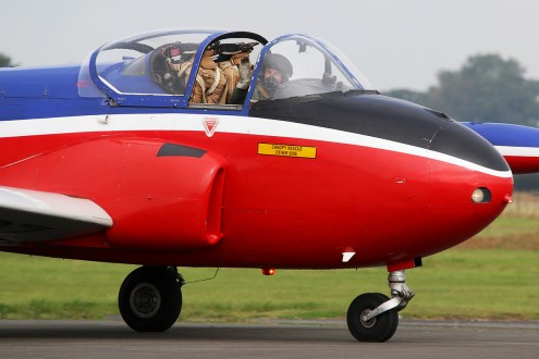 © Jamie Ewan - Hunting-Percival Jet Provost T.3 - The Yorkshire Air Show 2015