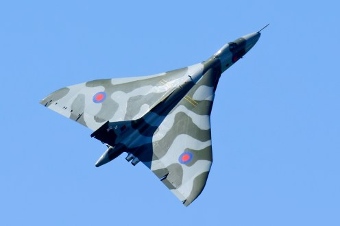 © David Schmidt - East Midlands Airport on June 7th 2015 - Vulcan XH558 Image Wall