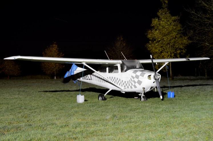 © Mark Empson - Cessna 172H Skyhawk G-MELT - Bourne Park Nightshoot