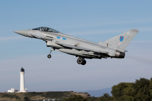 © Adam Duffield - RAF Lossiemouth Typhoon FGR4 ZK305 - AeroResource 2015 Highlights