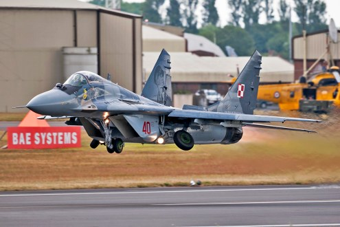 © Duncan Monk - Polish Air Force MiG-29 Display - AeroResource 2015 Highlights