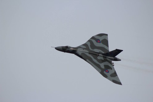 © Scott Hume - East Fortune October 2015 - Vulcan XH558 Image Wall