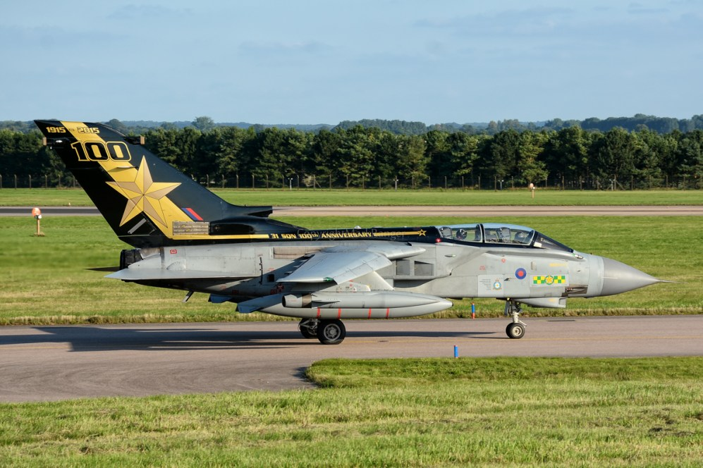 © Mark Ranger - 31 Squadron Tornado GR4 ZA458 - AeroResource 2015 Highlights
