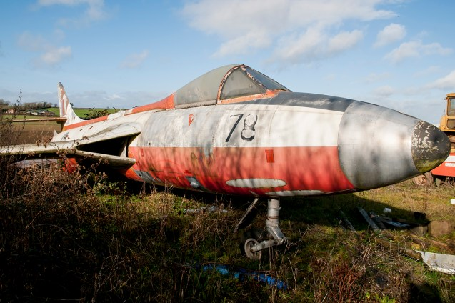 ©Duncan Monk - Hawker Hunter F6 XF526 - Birlingham Jet Aircraft Collection