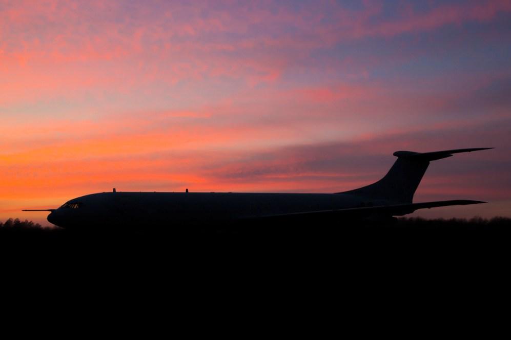 © Ben Montgomery - VC-10 K.4 ZD241- Bruntingthorpe Treble Tankers Nightshoot