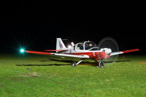 © Mike Buckle - Scottish Aviation Bulldog XX624 G-KDOG - Bourne Park Nightshoot 2