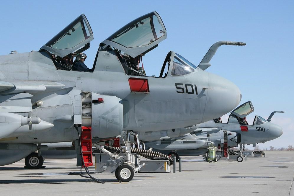 © Mark Forest - Grumman EA-6B Prowler - NAS Fallon