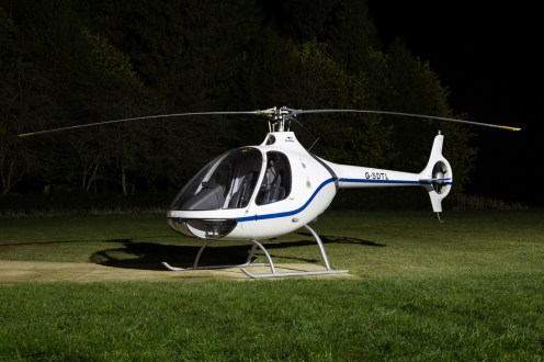 © Adam Duffield - Guimbal Cabri G2 G-SDTL - Bourne Park Nightshoot 2