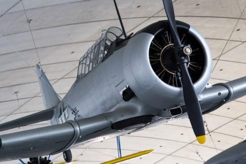 © Adam Duffield - North American Harvard AT-6 - American Air Museum Reopening