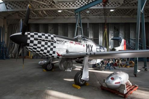© Adam Duffield - North American P-51 Mustang 'Etta Jeanne II' - American Air Museum Reopening