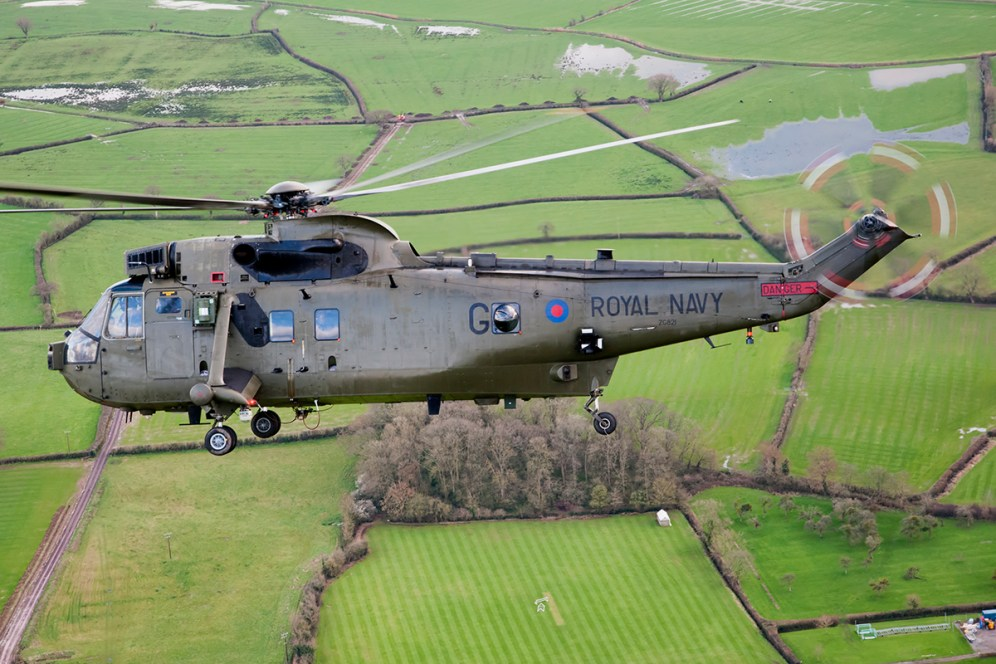 © Duncan Monk - Royal Navy Sea King HC4