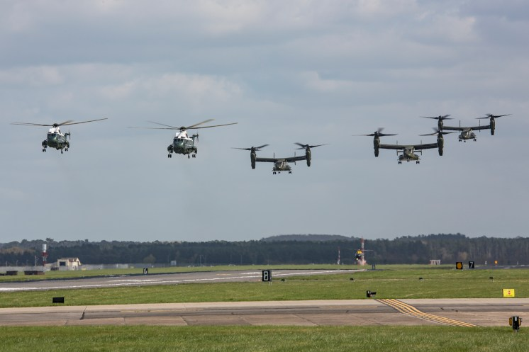 © Ben Montgomery - HMX-1 Presidential Helicopters at RAF Mildenhall