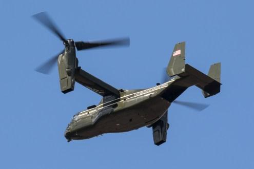 © Adam Duffield - Bell-Boeing MV-22B Osprey 168339 – HMX-1 Presidential Helicopters at RAF Mildenhall