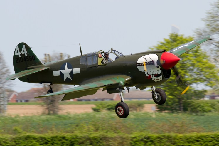 © Michael Lovering - Curtiss P-40 Kittyhawk - Shuttleworth Season Premiere Airshow 2016