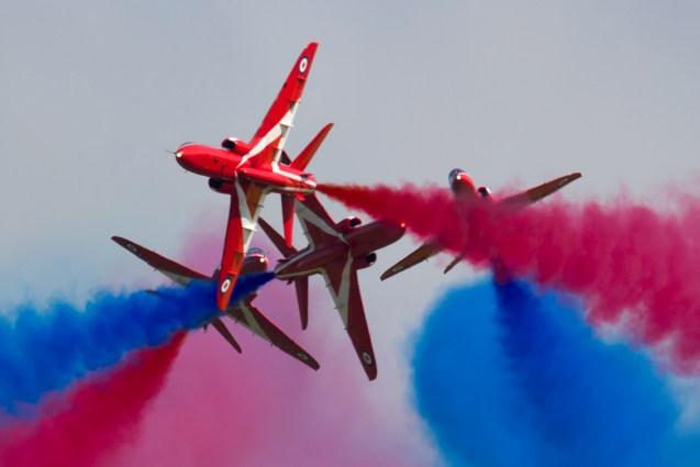 © Michael Lovering - RAF Red Arrows - Shuttleworth Season Premiere Airshow 2016
