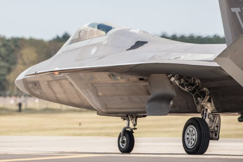 © Harry Measures - Lockheed F-22A Raptor - F-22 Raptor Deployment to RAF Lakenheath