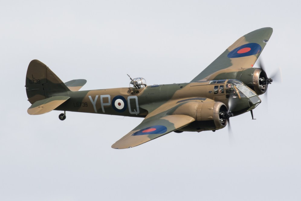 © Adam Duffield - Bristol Blenheim Mk1 L6739/G-BPIV - Abingdon Air and Country Show 2016