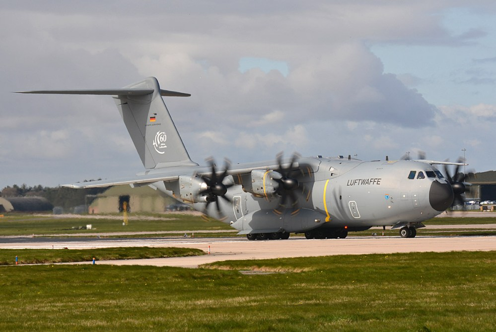 © Niall Paterson - Luftwaffe Airbus A400M - Joint Warrior 16-1