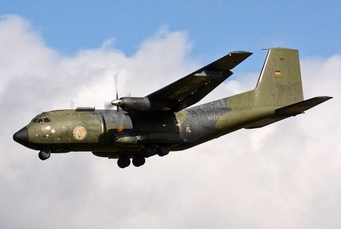 © Niall Paterson - Luftwaffe C-160D Transall - Joint Warrior 16-1