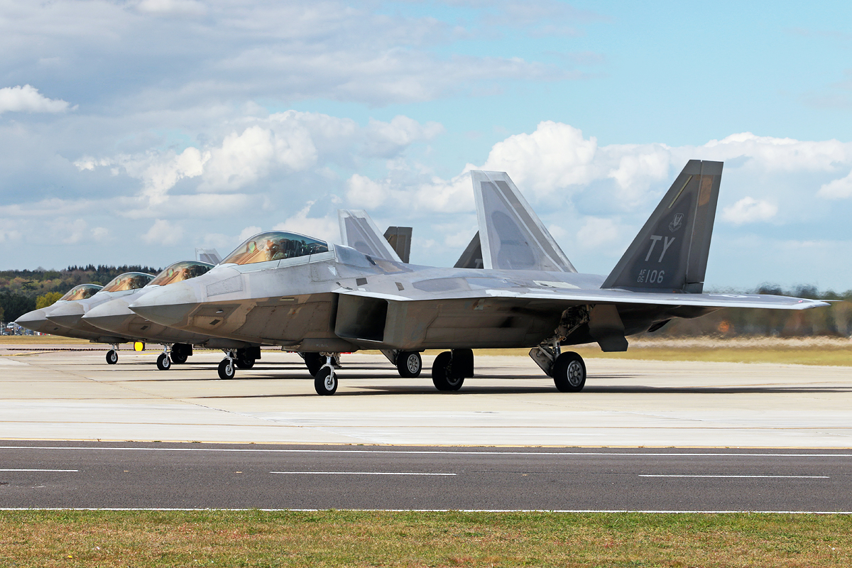 © Mark Kwiatkowski - Lockheed F-22A Raptor - F-22 Raptor Deployment to RAF Lakenheath