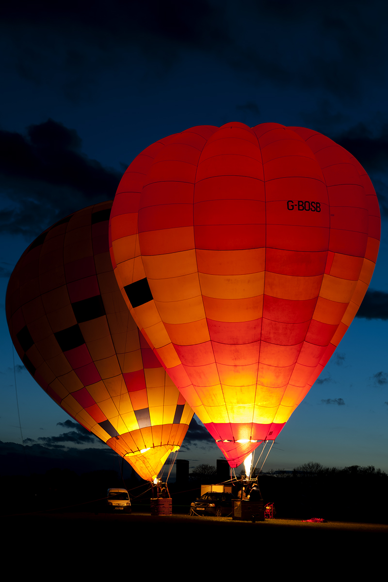 © Duncan Monk - The Oxford Balloon Company - Abingdon Nightshoot 2016