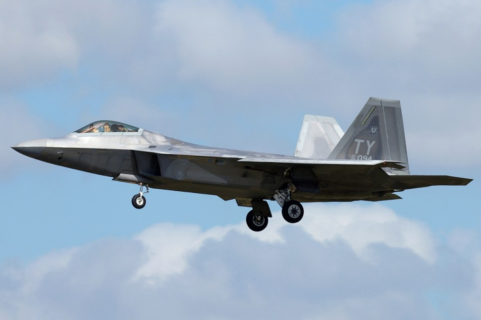 © Mark Kwiatkowski - Lockheed F-22A Raptor 05-4094 - F-22 Raptor Deployment to RAF Lakenheath