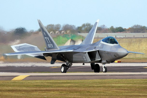 © Mark Kwiatkowski - Lockheed F-22A Raptor 05-4095 - F-22 Raptor Deployment to RAF Lakenheath