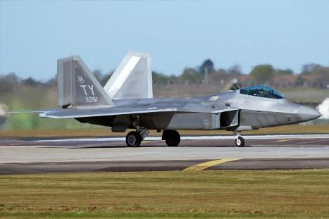 © Mark Kwiatkowski - Lockheed F-22A Raptor 05-4091 - F-22 Raptor Deployment to RAF Lakenheath