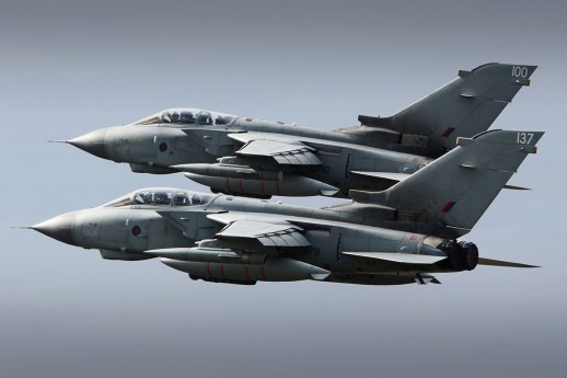 © Jamie Ewan - RAF Panavia Tornado GR4 ZD792 and ZG791 - Joint Warrior 16-1