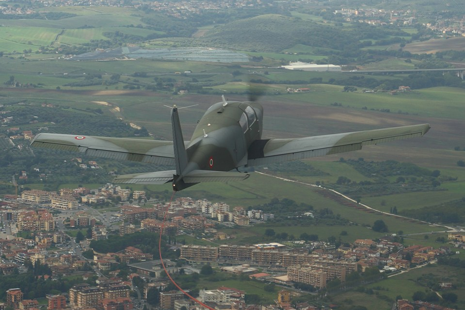 © Kevin Wright - - Italian Air Force Flying Training