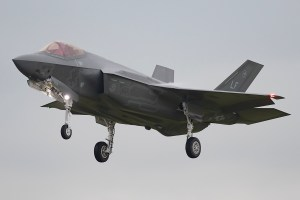 © Michael Lovering - USAF F-35A 12-5058 - F-35 Arrives in the UK