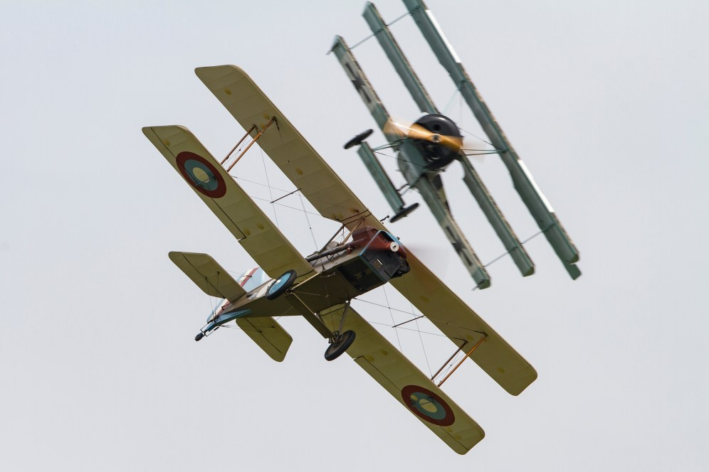 © Craig Sluman - Great War Display Team - Duxford American Air Show 2016