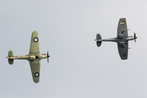 © Adam Duffield - BBMF Fighter Pair - Duxford American Air Show 2016