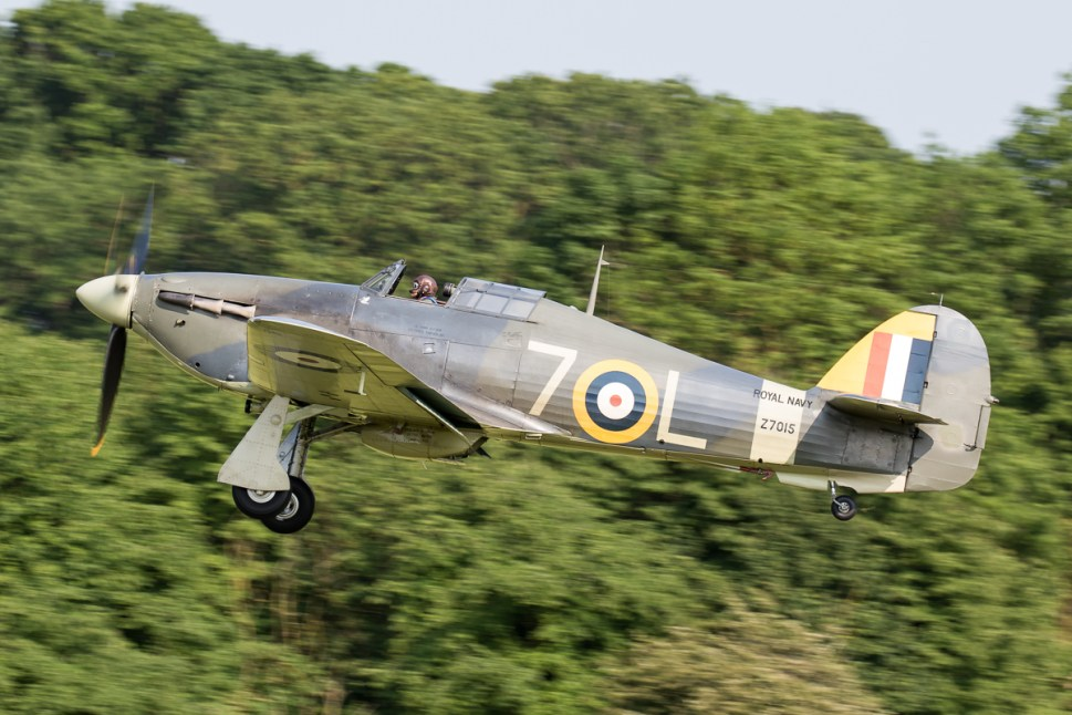 © Adam Duffield - Hawker Sea Hurricane MkIb Z7015/G-BKTH - Shuttleworth Fly Navy Air Show 2016