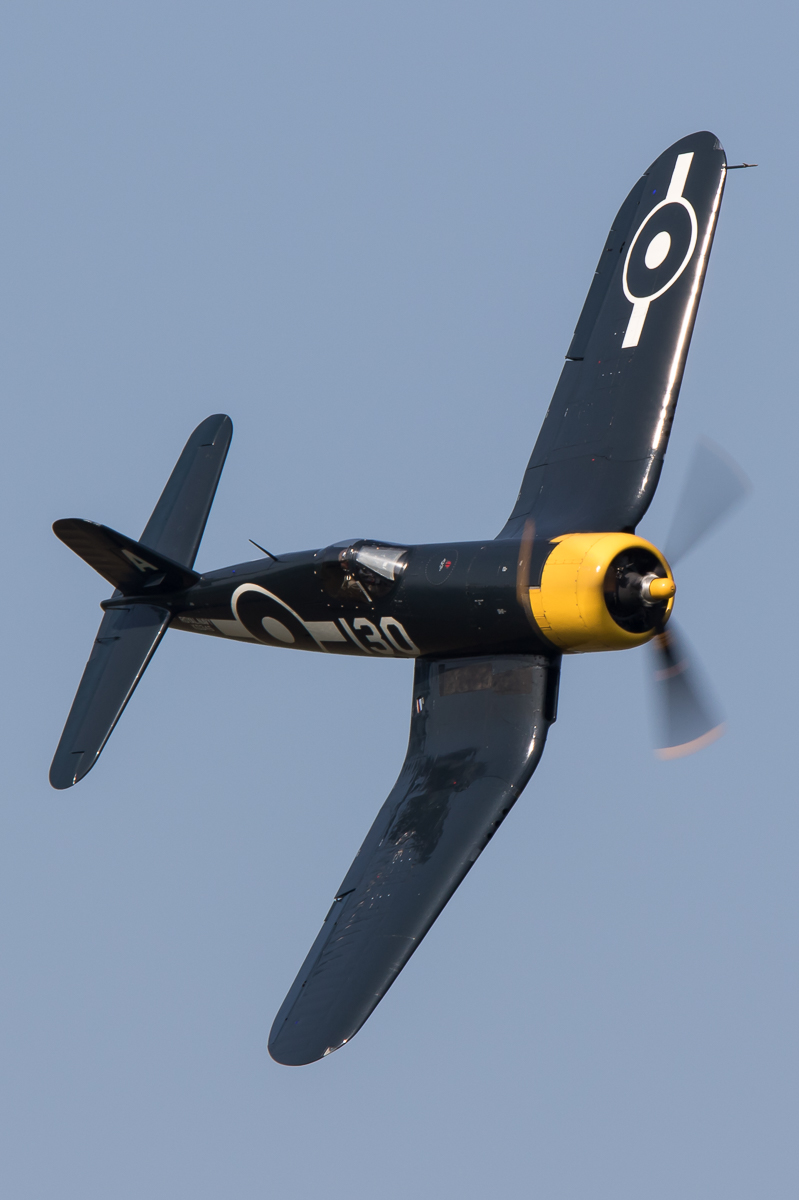 © Adam Duffield - Goodyear FG-1D Corsair KD345/G-FGID - Shuttleworth Fly Navy Air Show 2016