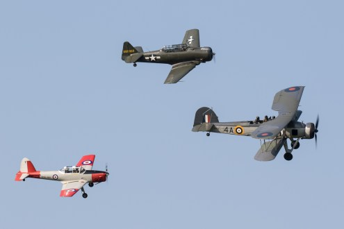 © Adam Duffield - RNHF Formation - Shuttleworth Fly Navy Air Show 2016