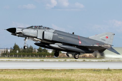 © Mark Kwiatkowski - TuAF F-4E Phantom 73-1020 - Anatolian Eagle 2016