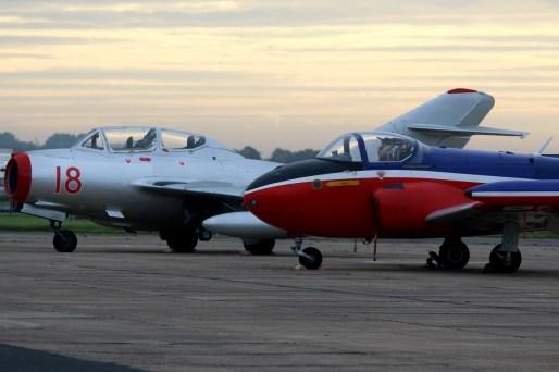 © Jamie Ewan - Hunting-Percival Jet Provost T.3 XN637 / G-BKOU - The Jet Provost Display Team