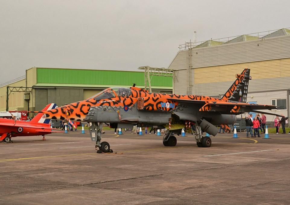 © Niall Paterson - Royal Air Force Sepecat Jaguar GR3A XX119 - RAF Cosford Air Show 2016