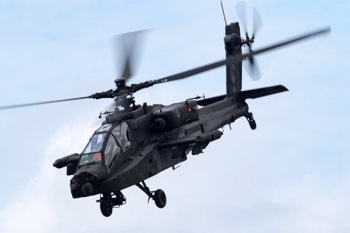 © Michael Lovering - RNlAF AH-64 Apache - Royal International Air Tattoo 2016