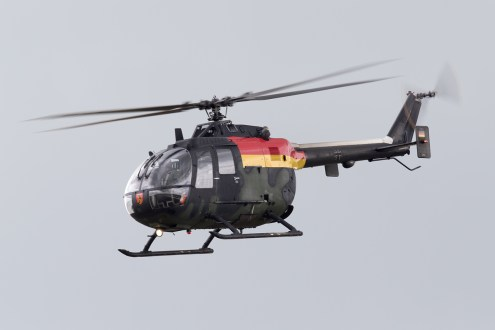 © Michael Lovering - German Army Bo-105 - Royal International Air Tattoo 2016