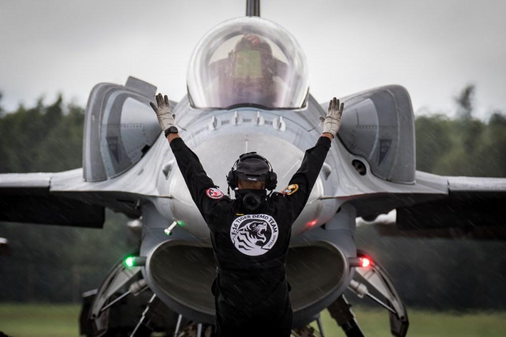 © Adam Duffield - Polish Air Force F-16C - Royal International Air Tattoo 2016