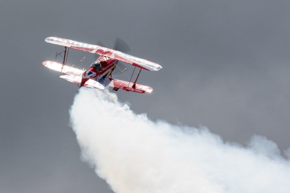 © Adam Duffield - Pitts S-2S (G-EWIZ) - RNAS Yeovilton Air Day 2016
